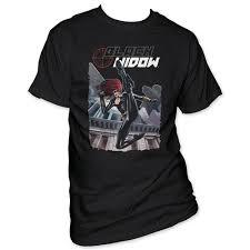 Black Widow T Shirt Kick