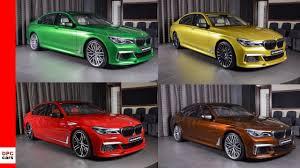 Bmw Individual Colour Chart 2018 Bmw 7 Series M760li Alpina B7 In Individual Colors
