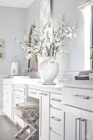 transitional master bathroom. Delighful Transitional Neutral Transitional Master Bath White Cabinets Carrara Marble Benjamin  Moore Silver Lake 3 Intended Transitional Master Bathroom I