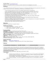 Software Architect Resume Spectacular Software Architect Resume
