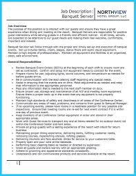 Cover Letter For Banquet Server Nice Expert Banquet Server Resume Guides You Definitely Need