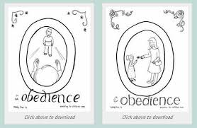 Another option is to hire an artist to create coloring pages for. Obey Your Parents Coloring Page