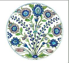 Floral Plate Design Museum Collection Floral Tin Enamel Plates The English Room