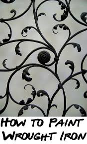 painting wrought iron furniture. If You Have A Wrought Iron Fence, Railing, Patio Furniture, Or Other Piece That Needs Fresh Coat Of Paint An Updated Color, Here Are The Steps For How Painting Furniture