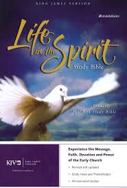 kjv life in the spirit study bonded leather black previously led the full life study 9780310927587 book