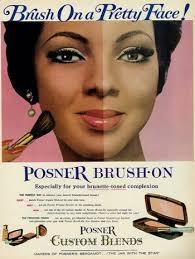 1960s powder makeup for black women