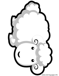 Small Picture cute smiling sheep Coloring pages Printable