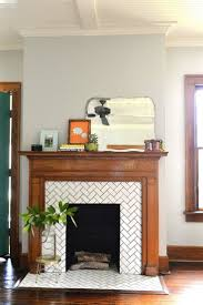 Tile Fireplace Makeover Best 10 Fireplace Tile Surround Ideas On Pinterest White