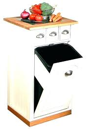 double wooden trash bin pine wood double garbage can double trash recycling bin cabinet wood