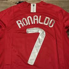 Cristiano ronaldo who has been reported to be set for a return to old trafford has been tipped to be reunited with his famous no. Cristiano Ronaldo Manchester United Jersey Jersey On Sale