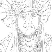Powhatan Coloring Pages Hellokidscom