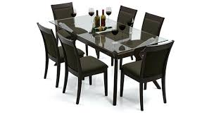 glass 6 seater dining table 6 dining table set 6 seater glass dining table and chairs