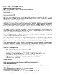 maintenance resume samples resume for maintenance technician maintenance supervisor resume