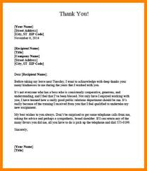 Thank You Letter Boss After Resignation Up Date Portray Note When