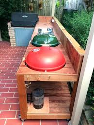 grill table how to build a woodworking projects plans homemade weber diy folding for grilling kettle grill table homemade
