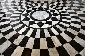 Download Black And White Marble Floor Pattern Stock Photo - Image: 28137324