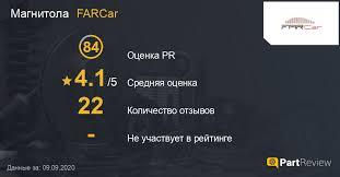 Отзывы о магнитолах <b>FARCar</b>: Оценки, Рейтинги, Сайт, Страна