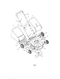 Bolens lawn mower parts model 416 sears partsdirect