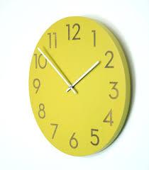 Small Picture big modern wall clocks charming designer large wall clock 54