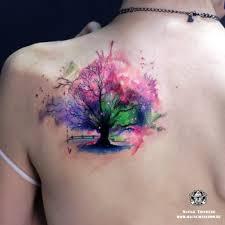 тату в стиле акварель для девушек волк в стиле акварель фото тату
