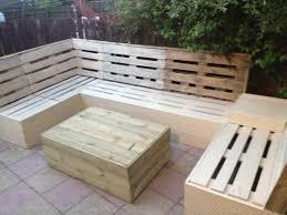 garden furniture made from pallets. Cute Patio Pallet Furniture #garden #palletcoffeetable #palletgardenset #palletlounge #palletsofa #recyclingwoodpallets My Garden Made From Pallets