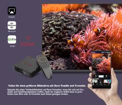 Magicsee N5 NOVA 4GB RAM 64GB ROM 4K TV Box Android 9.0 2,4G Stimme  Fernbedienung mit Air Maus