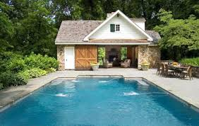 pool house designs small type plans with indoor swimming in india