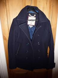 superdry uk official superdry mens vintage peacoat reefer jacket navy size small reduced superdry dresses next official website