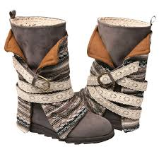 women s gray faux suede boots