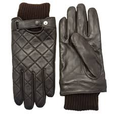 Barbour Lifestyle Mens Brown Quilted Leather Gloves   Hurleys & Barbour Lifestyle Mens Brown Quilted Leather Gloves ... Adamdwight.com