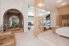 Orange Curtains Inside Luxury Bedroom Apt Nyc Can Be Decoration Ideas It  Also Has Queensize Bed