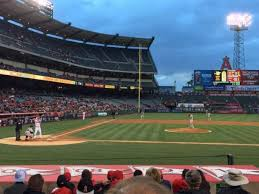 Angel Stadium Section F123 Home Of Los Angeles Angels Of