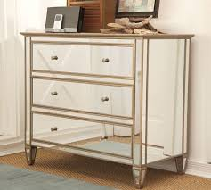 ... Silver Rectangle Modern Wood Mirrored Chest Of Drawers And Frame Ideas:  White ...