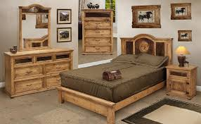 rustic bedroom furniture sets. San Felipe Rustic Bedroom Furniture Set W/ Cowhide Sets U