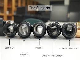 Meyer Mouthpiece Chart Physics Of Music Matthew Rody Goshen College