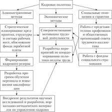 Особенности реализации кадровой политики в российских и зарубежных  Структура кадровой политики в корпоративном секторе промышленности