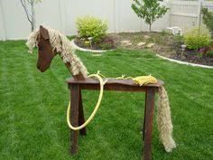 Wooden Hoop Game Country western game idea Dad made this cute wooden horse and 37