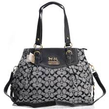 Coach Madison Madeline East West Large Grey Satchels BXE