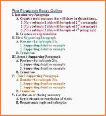 outline of essay format 9 essay format outline essay checklist