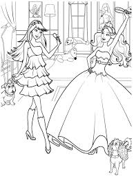 Barbie Horse Coloring Pages Free Large Images Coloring Book