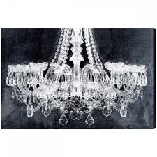 Canvas Art Wall Art Stunning Chandelier Canvas Art Chandelier On Canvas