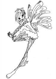 Disegno Di Sirenix Tecna Da Colorare Disegni Da Colorare E