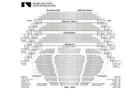 Nac Orchestra Seating Chart Chrysler Center Seating Chart