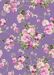 Vintage flowers wallpaper