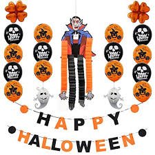 <b>Halloween</b> Party <b>Balloons</b> Decoration Set - Buy Online in China at ...