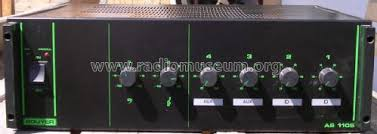 Préampli-Ampli 100W AS1105 Ampl/Mixer Bouyer, Paul Harmonic