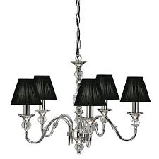 chandelier with black shades incredible black crystal chandelier