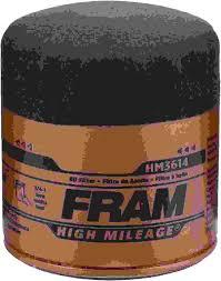 Sc High Mileage Chart 2017 Fram High Mileage Oil Filter Spin On Oil Filter Hm3614 Fram