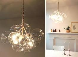 glass bubble chandelier collection in glass chandelier glass bubble chandelier glass bubble chandelier diy