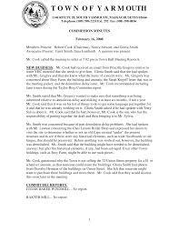 Historic Commission Minutes 2-19-08